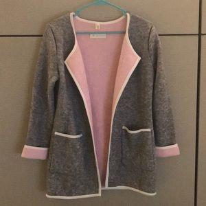 Pink & Gray sweater
